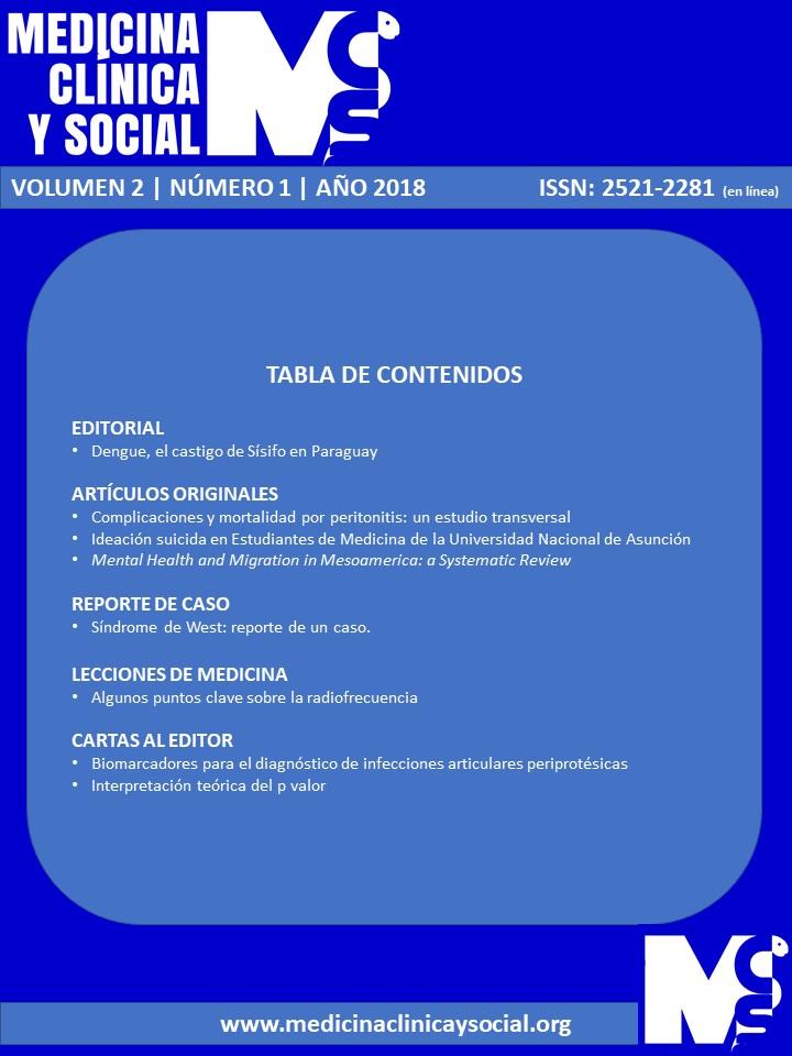 Ver Vol. 2 Núm. 1 (2018): ENERO-ABRIL